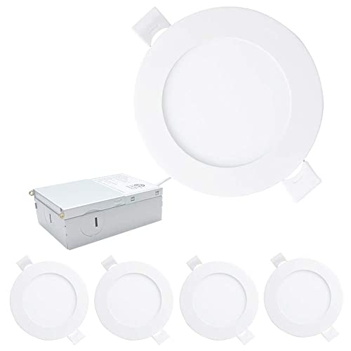 Westgate LED Retrofit Recessed Downlight 10W 4 Inch With Integrated Baffle Trim
