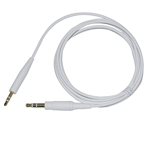 Black Replacement Extension Audio Cable Cord Line Compatible with Bose SoundTrue Soundlink QC25 QC35 OE2 Headphones