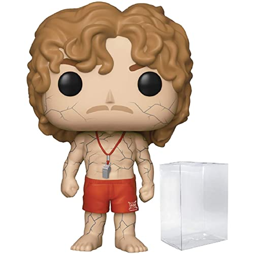 Hopper with Vines Vinyl Figure Stranger Things Bundled with Pop Box Protector Case Pop Protector Funko Pop
