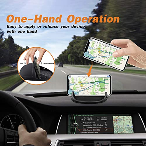 Samsung Android Smartphones Car Phone Mount Silicone Phone Car Dashboard Car Pad Mat Various Dashboards Anti-Slip Desk Phone Stand Compatible with iPhone KGs3 Car Phone Holder GPS