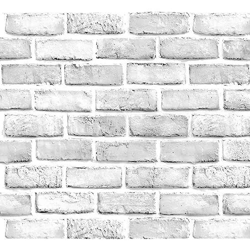 Buy White Brick Wallpaper Brick Peel And Stick Wallpaper