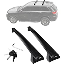 Black Matte with Anti-Theft Locks Autekcomma Heavy Duty Roof Rack CrossBars for Subaru Forester//Crosstrek//Impreza 2014-2019,Anti-Corrosion ONLY FIT Original EXISTING Side Rail