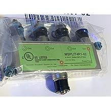 1 PC DIRECTV 4-Way SWM Splitter MSPLIT4R1-02