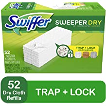 Mega Value Swiffer Sweeper Wet Mopping Pad Refills for Floor Mop Open Window Fresh Scent Bulk 60 count