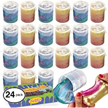 Ahyuan Shining Starry Sky Slime Putty Soft Cryster Non-Sticky Bouncing Slime Putty for Stress Reliever and Fun