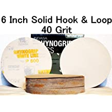 SOLID DISCS 3 400 GRIT REDLINE XL RHYNOGRIP Hook and Loop